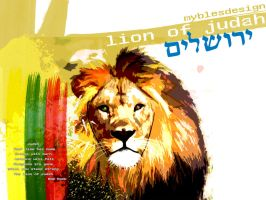 The Lion of Judah by myblesgb