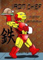 Iron Man Chef by norrit07