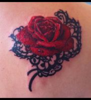 Salvador Dali Meditative Rose by sooj