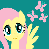 Icon: Fluttershy by demonreapergirl