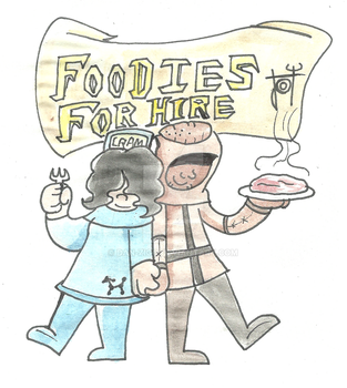 Foodies for hire by dan-zigg