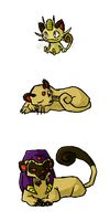 Pokemon Cats WWS by the19thGinny