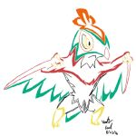 Tribal Hawlucha by ArchangelVampire