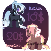 Adoptable Duo! #34 [CLOSED] by SallyLapone