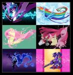 MLP portrait print pack by neofox