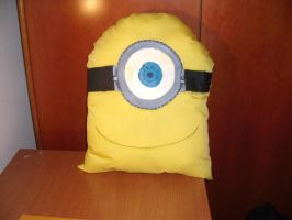 Minion Pillow by Lendsei