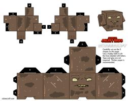 SMB Brownie Cubeecraft by augustelos