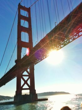 golden gate by nahnia