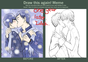 I am drawing this again -yaoi- by minghii