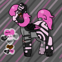 Pig Pony (SOLD) by Noxious-Dreams