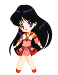 Chibi: Brillare Sailor Mars by MahouChikara