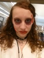 Zombie Makeup by cake613