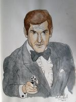 James bond (Roger Moore) by Barfly1986