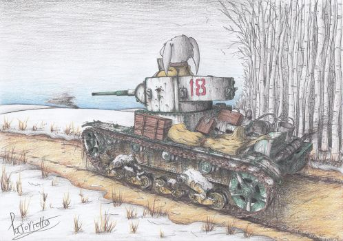 T-26 model 1933 Tank by Patoriotto