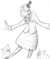 Isabel Wondertainment Sketch by charle88