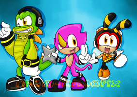 team chaotix-colored- by monkeycrazyness