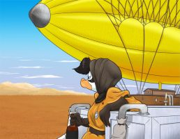 Filling The Blimp in Color by GreyOfPTA