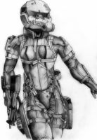 metal gear solid 4 - haven trooper by deathlouis