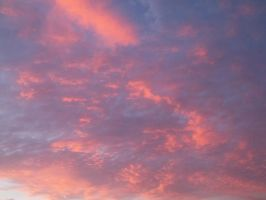 Pink and Orange Sky 3 by chelsmith18