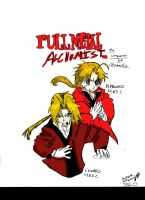 Edward and Alphonse Elric by Super-Aaron-360