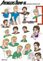 Avengers Dump 16 by LauraDoodles