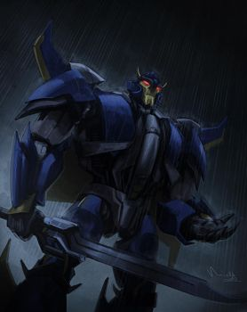 TF Prime - Dreadwing by TheMinttu