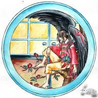 Tengu-Japanese fairy tales by erikaho