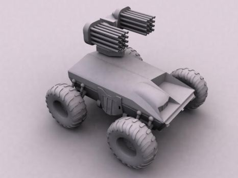 AntiAircraft ATV by antrent