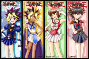 YGO Sailor Warrior Bookmarks by Penny6