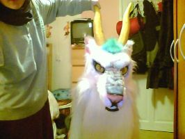 Haku Fursuit Mask by Yuki-Moon