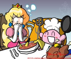 Cook Kirby by BrokenTeapot