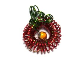 Tomato Coil Pendant by cakhost