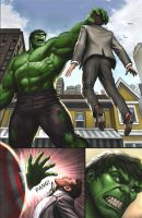 Hulk Sees Cap by Habjan81