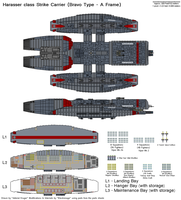 Harasser class Carrier by The-Electromage