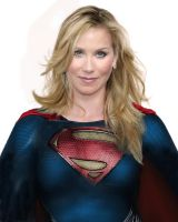 Christina Applegate as Supergirl by CortanaII