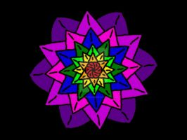 Rainbow Lotus Flower by Sir-William-Drake