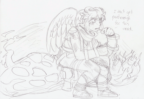 Mood after beating Kid Icarus: Uprising by TwilightMoon1996