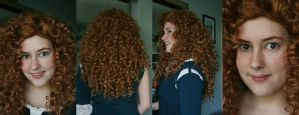 Merida - Wig/Makeup Test by RainOwls