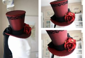 Madness Returns Mini Top Hat by ImperialFiddlesticks