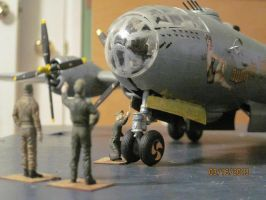 B-29 Superfortress: Nose by cloudyrainbow561
