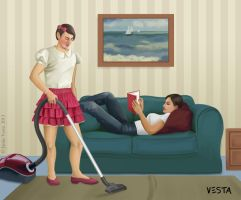 Division of labour by gender by Eves-Rib