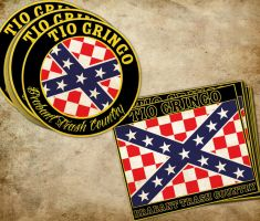 Tio Gringo Flag and Sticker by DeGraafCreativity