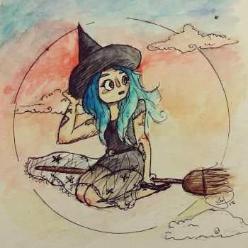 Mermaid Witch by HannaPaulson