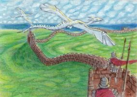 Wyrms Over Hadrian's Wall by LEXLOTHOR