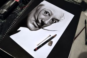 Salvador Dali Part 2 by MrYorkie
