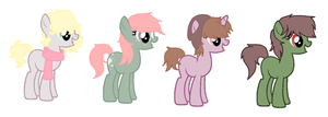 ::1 LEFT:: Pony Adopts by PennyDropShop