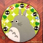 My Neighbor Totoro Embroidery Hoop by iggystarpup