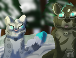 RQ- Snowball fight by Fawnadeer