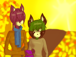 Monthly Activity : October :- Autumn Time by Doggshort2