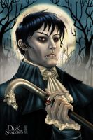 Dark Shadows ~A portrait of Barnabas Collins~ by Guardian-Beast
